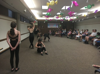 Advanced Dance Creations class